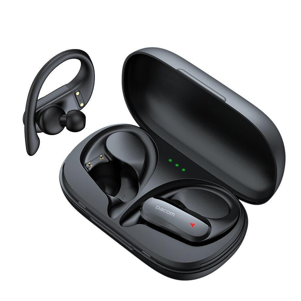 Навушники DACOM Athlete TWS Pro black