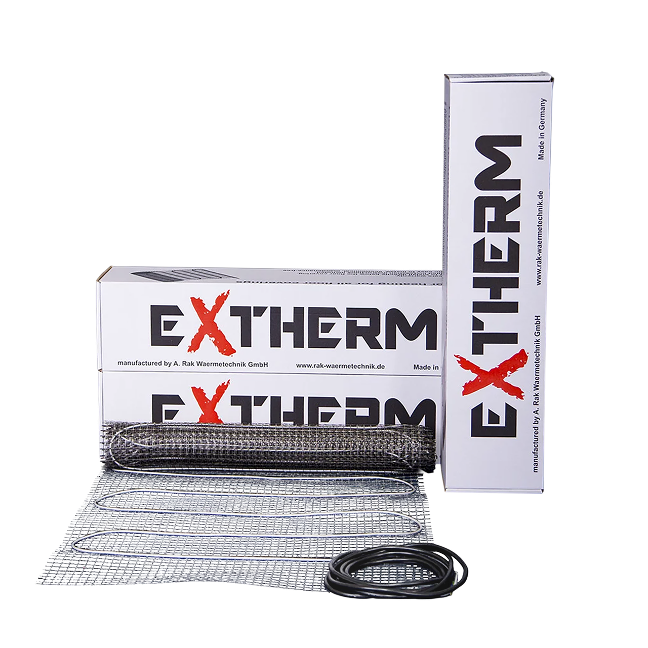 Нагрівальний мат двожильний Extherm ETL 250-200