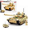 """Конструктор SLUBAN M38-B0790 """"Model bricks"""": Бойовий танк 99А, 893 деталей"""