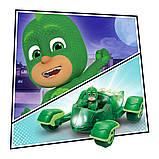 Набор с игровым транспортом герои в масках - гоночный геккомобиль (с фигуркой, светится), фото 3