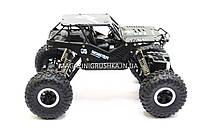 Автомобиль джип на пульте управления Sulong Toys 1:18 Off-Road Crawler Tiger Металлический Черный (SL-111MB), фото 3