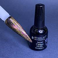 Гель-лак кошачий глаз магнитный для ногтей Starlet Professional Jewel Cateye №03 10мл