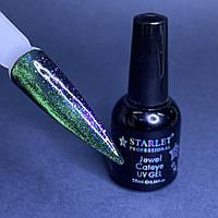 Гель-лак кошачий глаз магнитный для ногтей Starlet Professional Jewel Cateye №04 10мл