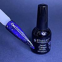 Гель-лак кошачий глаз магнитный для ногтей Starlet Professional Jewel Cateye №06 10мл
