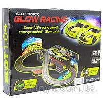 Автотрек JJ SLOT Glow Racing JJ 87, на радіокеруванні в коробці, фото 2