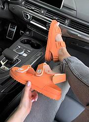 Sandals Orange