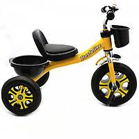 Велосипед детский трёхколёсный Best Trike Желтый (LM-9033), фото 2