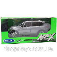 Іграшкова машинка Welly Nex «Країна Іграшок» БМВ x5, сірий, 18 см (24052W), фото 2