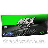 Іграшкова машинка Welly Nex «Країна Іграшок» Бугатті Широн, синій, 18 см (24077W), фото 3