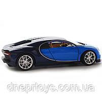 Іграшкова машинка Welly Nex «Країна Іграшок» Бугатті Широн, синій, 18 см (24077W), фото 4