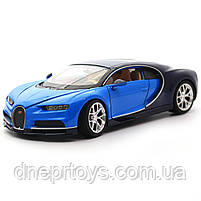 Іграшкова машинка Welly Nex «Країна Іграшок» Бугатті Широн, синій, 18 см (24077W), фото 5