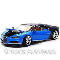 Іграшкова машинка Welly Nex «Країна Іграшок» Бугатті Широн, синій, 18 см (24077W), фото 6