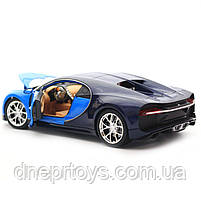 Іграшкова машинка Welly Nex «Країна Іграшок» Бугатті Широн, синій, 18 см (24077W), фото 7
