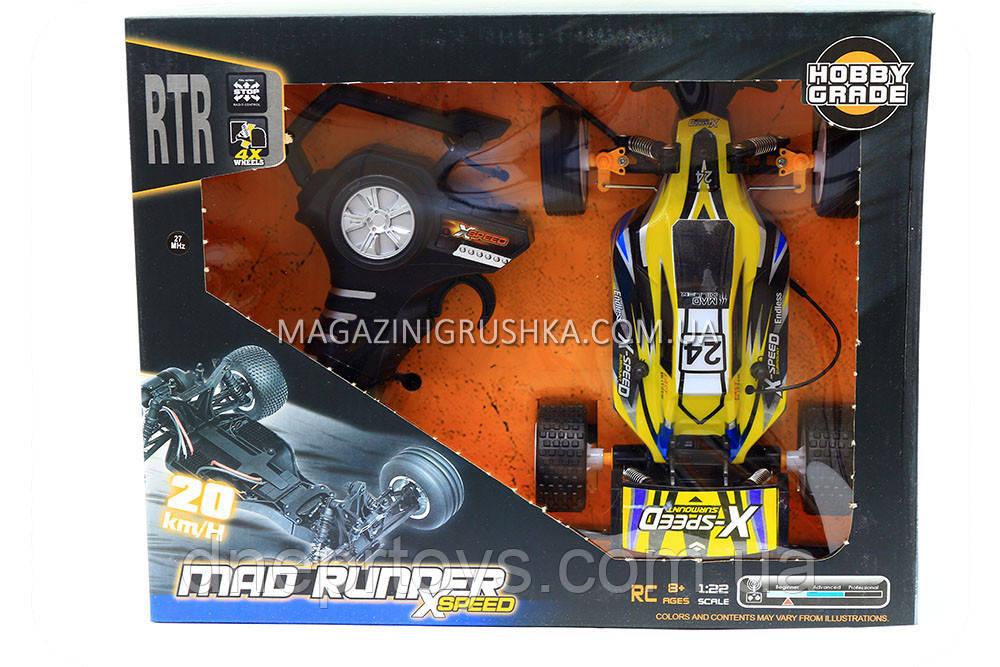 Іграшкова машинка баггі на радіокеруванні 5513ABC-1/2 (жовта)