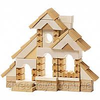 Деревянный конструктор Левеня Cubika Дом сборный LB-2, 119 деталей (11544), фото 5