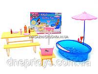 Детская игрушечная мебель Глория Gloria для кукол Барби Бассейн 1679. Обустройте кукольный домик, фото 3