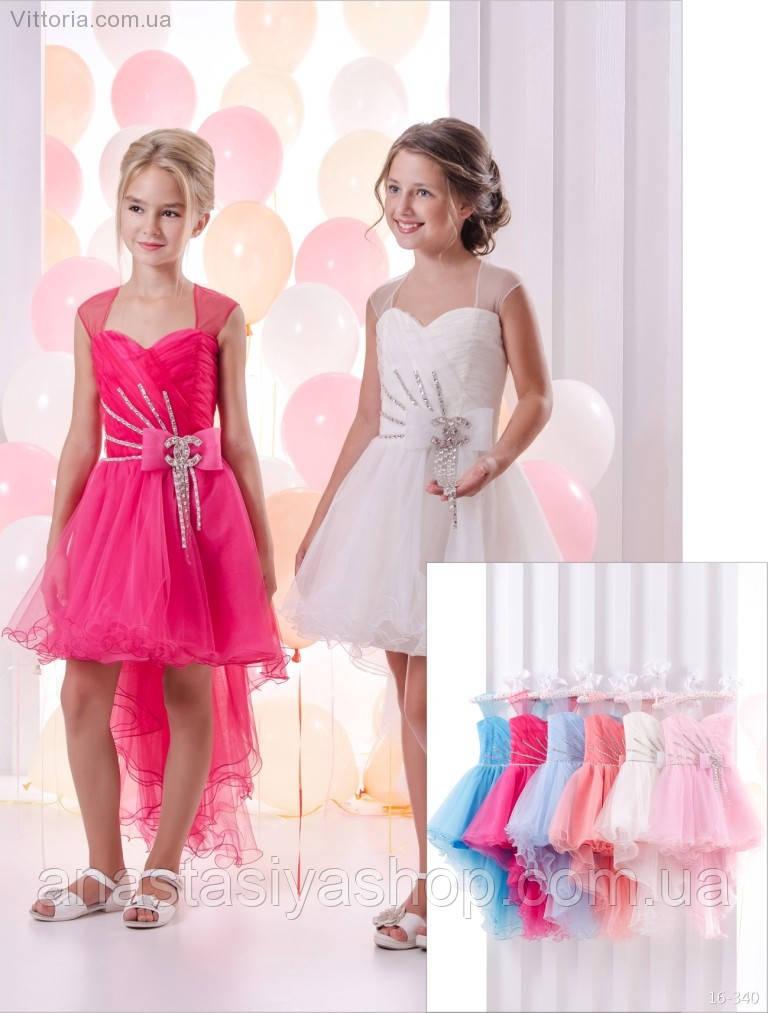 Детское платье 16-340