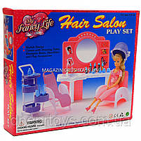 Дитяча іграшкова меблі Глорія Gloria для ляльок Барбі Перукарський салон 96009. Облаштуйте ляльковий будиночок, фото 2