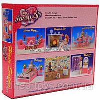 Дитяча іграшкова меблі Глорія Gloria для ляльок Барбі Перукарський салон 96009. Облаштуйте ляльковий будиночок, фото 3