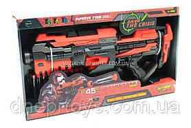 Детский бластер с мягкими патронами «Soft bullet gun» FJ822 - 10 патронов