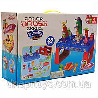 Дитячий набір для творчості пластилін 28 предметів, верстат (MK 3880), фото 3