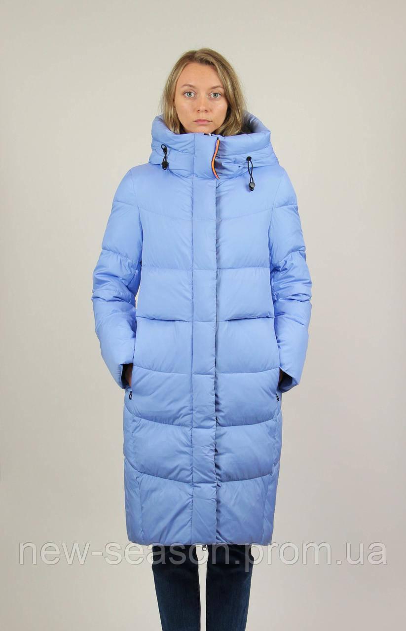 Зимовий пуховик Towmy 3207 блакитний