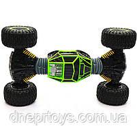 Машина-трансформер на радіокеруванні SUNROZ Double Sided Stunt Car Зелений (UD2168A), фото 5
