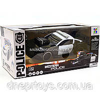 Машинка «Полиция» на радиоуправлении 75599P (аккумулятор, звук, свет, резиновые колеса), фото 2