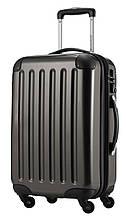 Малий валізу з полікарбонату 45 л Hauptstadtkoffer alex сірий