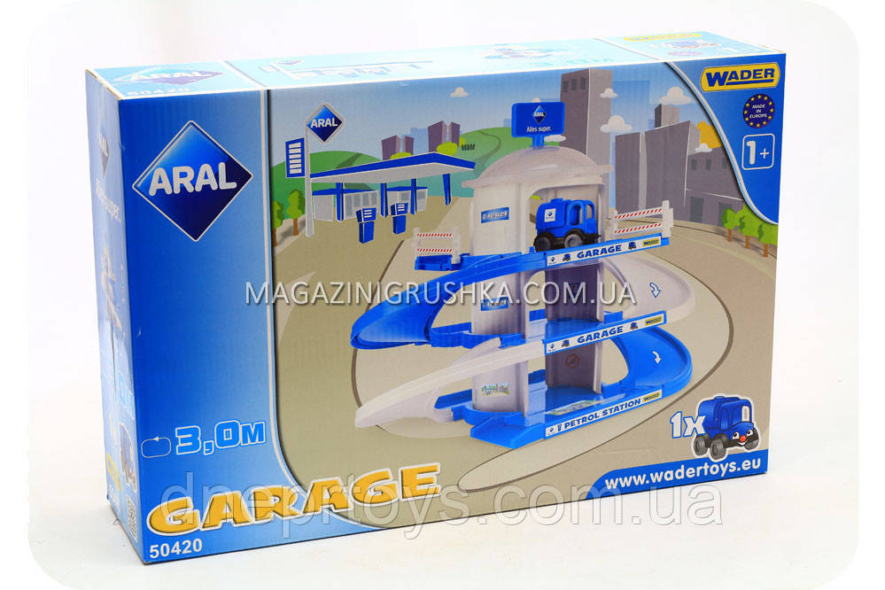 Игровой набор «Большой гараж Wader» 50420