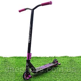 Трюкових самокат Best Scooter фіолетовий, пеги (97889)