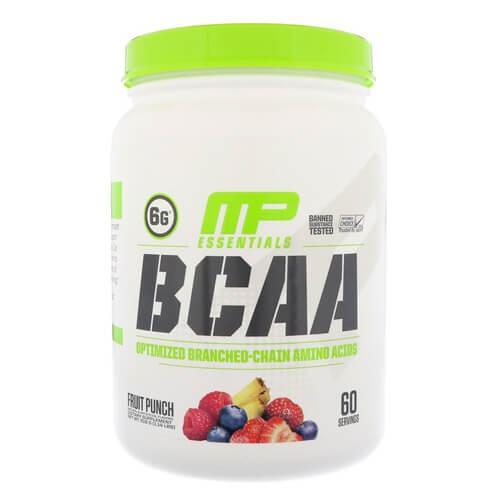 Аминокислоты ВСАА, Musclepharm BCAA 3: 2: 1 516 грамм, Blue Raspberry