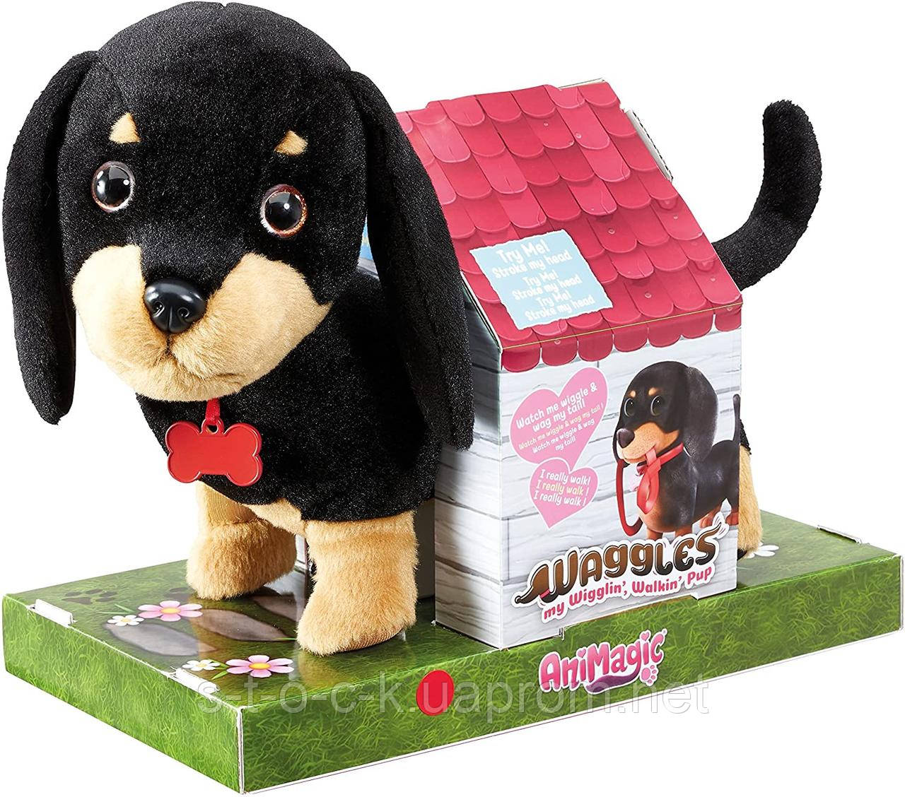 Интерактивная собака AniMagic Такса 919091