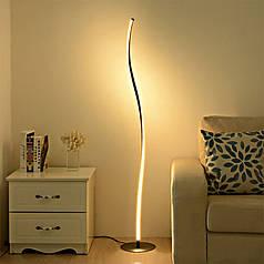 Підлоговий Торшер Lesko YL006 Black світлодіодний світильник лампа для читання