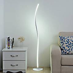 Підлоговий Торшер Lesko YL006 White світлодіодний світильник лампа для читання