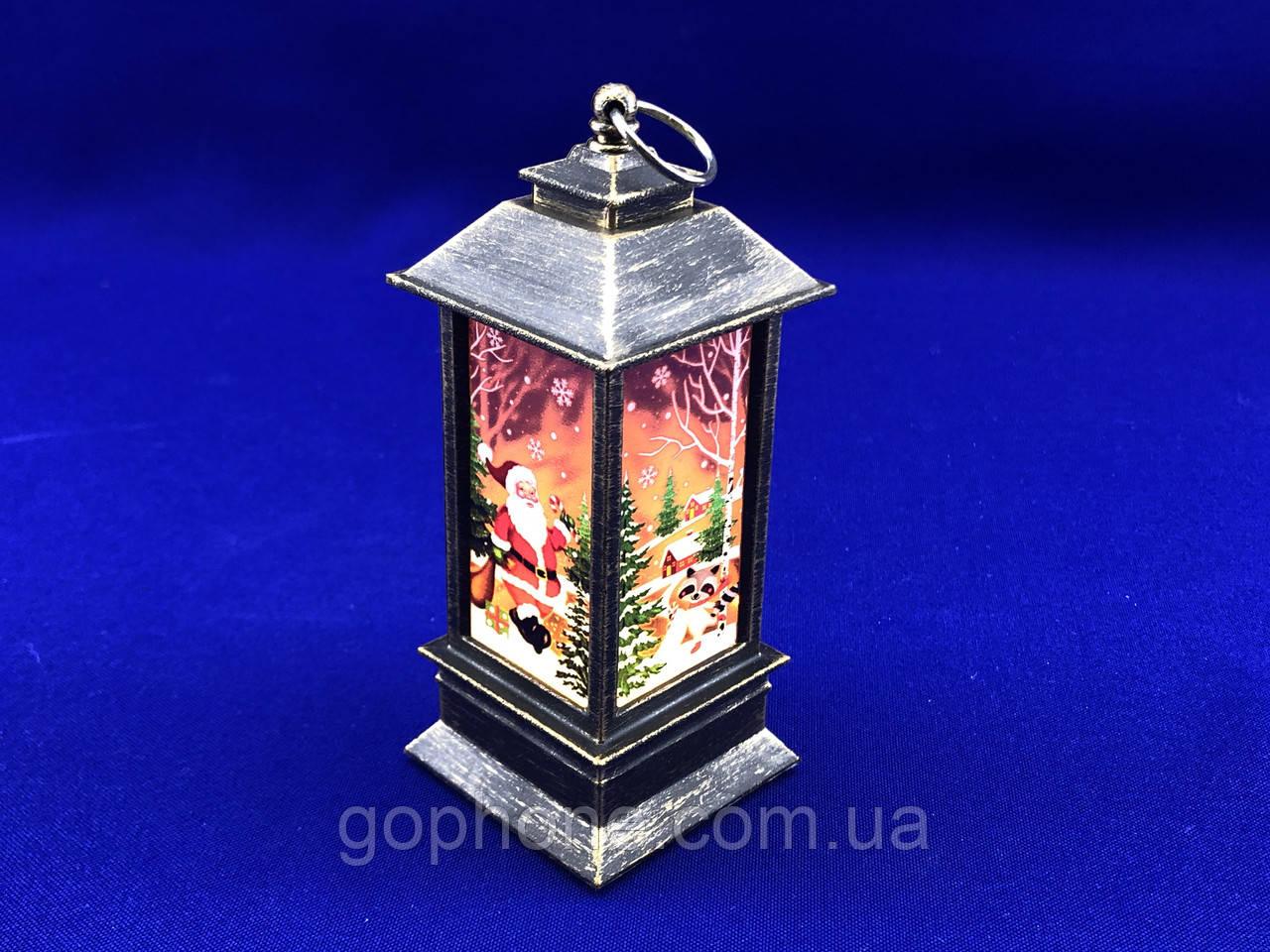 Декоративный Рождественский фонарь  (1)