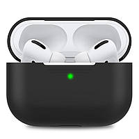 Чехол STR Silicone Case for Apple AirPods Pro - Black