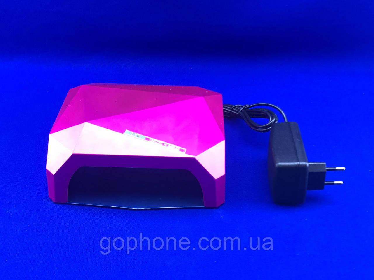 Гібридна лампа для нігтів DIAMOND 36W (CCFL+LED)