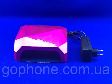 Гібридна лампа для нігтів DIAMOND 36W (CCFL+LED), фото 2
