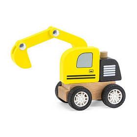Деревянная машинка Viga Toys Экскаватор (44517)