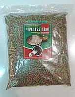 Корм Черепаха Плюс, витаминизированный корм в палочках для рептилий, пакет 1 кг