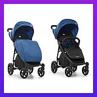 Коляска детская прогулочная трансформер ESCAPE DENIM BLACK Синего цвета коляска универсальная книжка