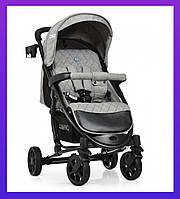 Прогулочная детская коляска трансформер ZETA DENIM SILVER Цвет Серый Коляска Универсальная