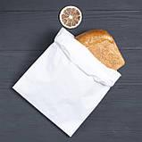 Пакет бумажный саше для продуктов 220*80*380 мм, упаковка 1000 штук, фото 2