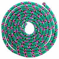 Скакалка для художественной гимнастики Lingo 04LS-98 3м цвета в ассорт., Зеленый