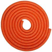 Скакалка для художественной гимнастики утяжеленная SP-Sport C-0371 3м цвета в ассорт., Оранжевый
