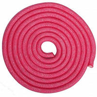 Скакалка для художньої гімнастики утяжеленная SP-Sport C-0371 3м кольори в асорт., Рожевий