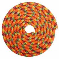 Скакалка для художньої гімнастики утяжеленная 3м кольори в асорт., Помаранчевий-салатовий