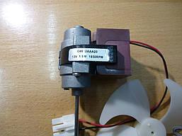 Вентилятор обдува no frost универсальный DAEWOO (вал длина 38 мм,диам 3,2мм)  1,5W-13V(MTF709 RF)