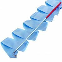 Лента для художественной гимнастики с палочкой Lingo C-3249 3,3м цвета в ассорт., Синий